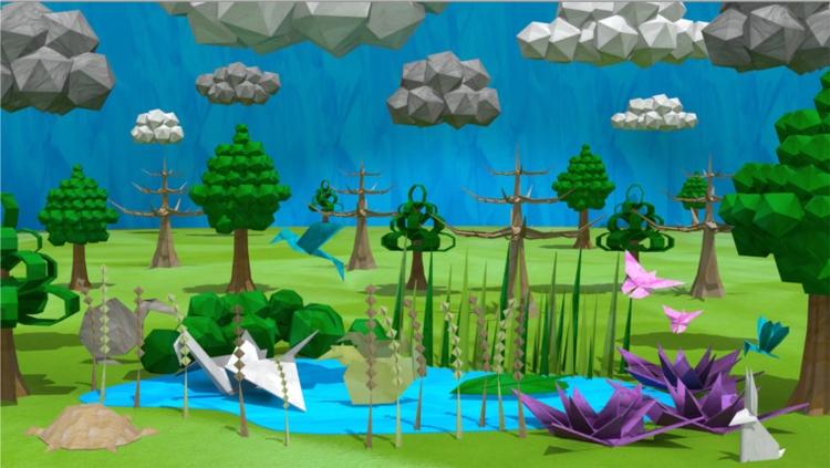 Origami lake - 3D, origami, Digitalart - sarahalhosani | ello