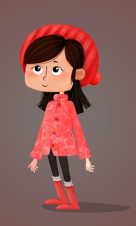 Character Design - animation, illustration - somayeh-1319 | ello