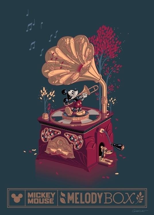 Disney Music Box poster - caltsoudas | ello
