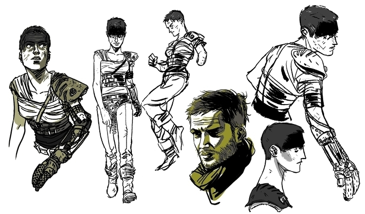 Mad Max Fury Road - Sketches - madmaxfuryroad - awrugro | ello