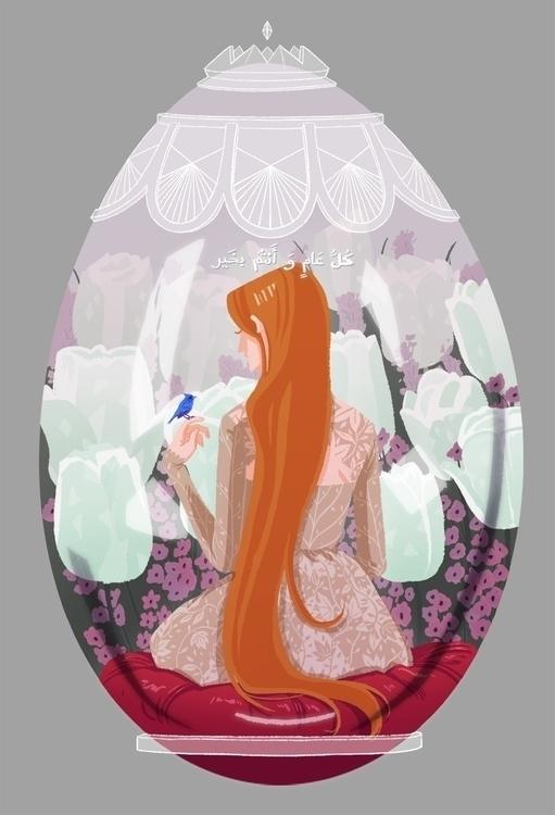 illustration, eid - awrugro | ello
