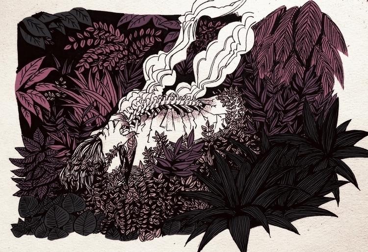 illustration, traditionalart - awrugro | ello