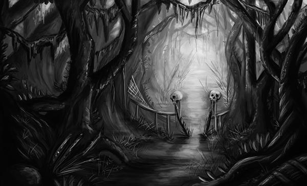 sketch, illustration, terror - ricardomacia | ello