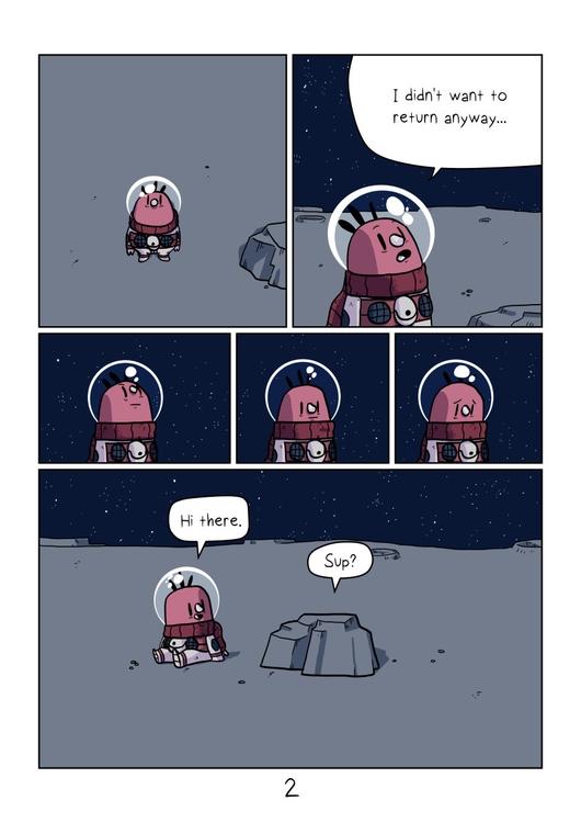 page 2 - emptyplanet, comic, space - indiana_jonas | ello