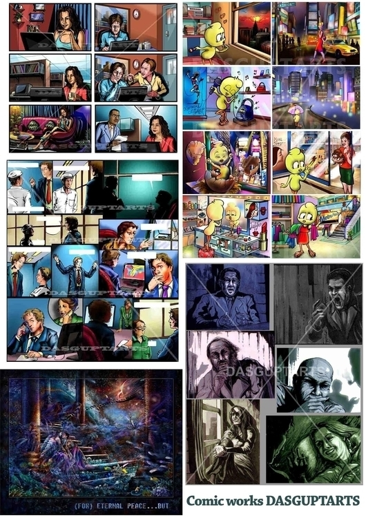 Comic Book - dasguptarts | ello