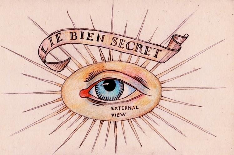 Masonic eye - sketch, illustration - zizilka   ello