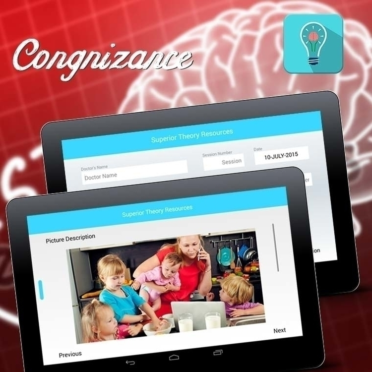 Congnizance App - illustration, design - nztsolutions | ello