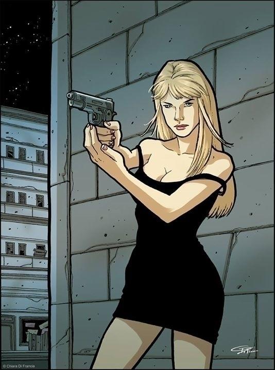 Spy Woman - La Femme Nikita Ink - chiaradifrancia | ello