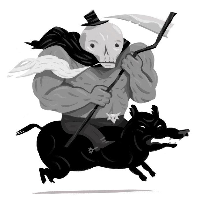 Stan Reaper - art, illustration - johnstarr-5395   ello