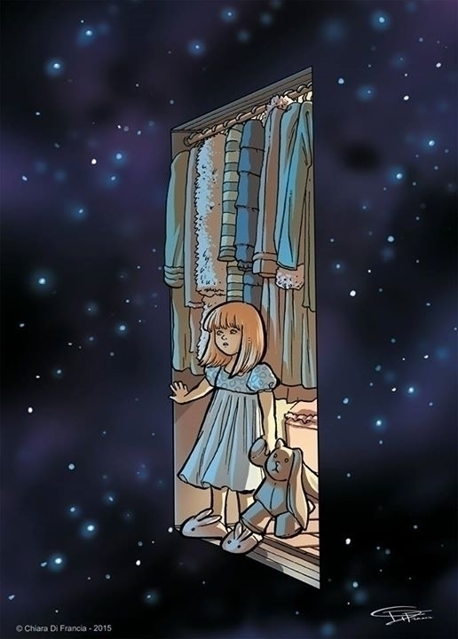Secret Passage - illustration, painting - chiaradifrancia   ello