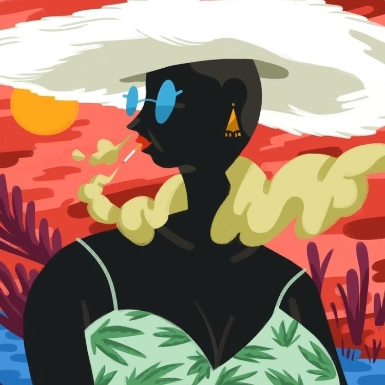 Coco - digitalart, art, illustration - johnstarr-5395   ello