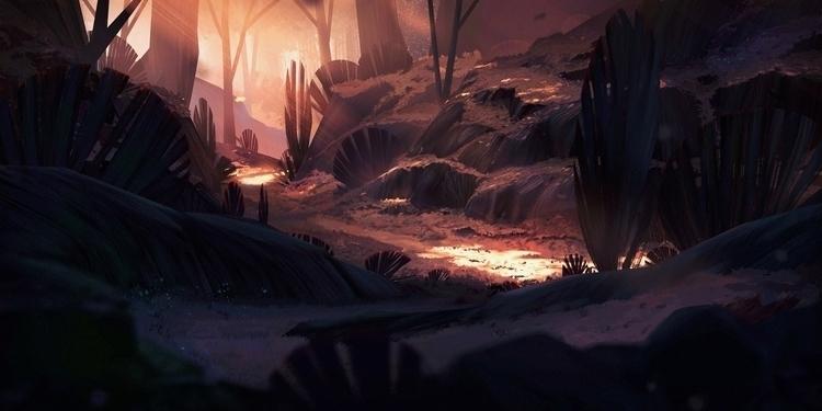 Forest fall - environment - henrik-5947 | ello