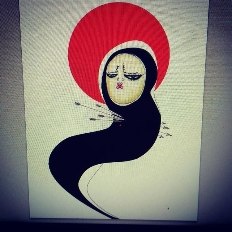 san sebastian - illustration, characterdesign - elizabeth-8648 | ello