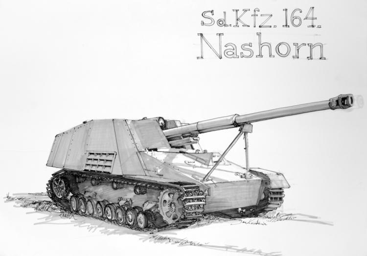 Nashorn Tria Markers + fineline - jandraws | ello
