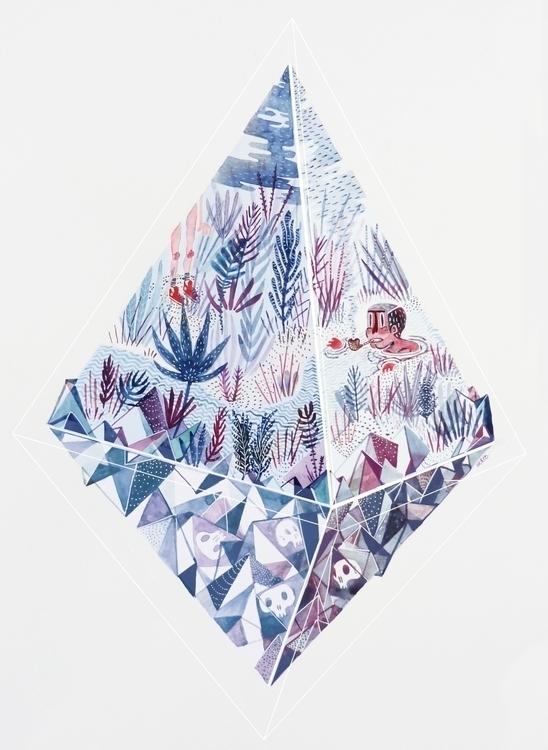 Polygon - illustration, öckto, polygon - ockto | ello