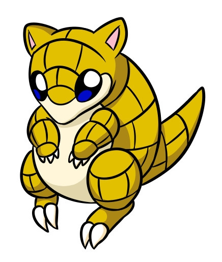 Sandshrew - sandshrew, pokemon - flowerbanana | ello