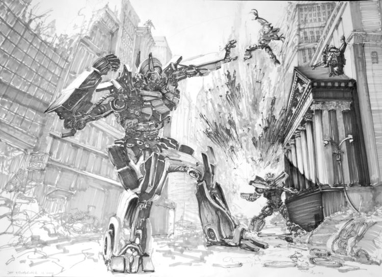 Transformers Tria Markers, B2 - transformer - jandraws   ello