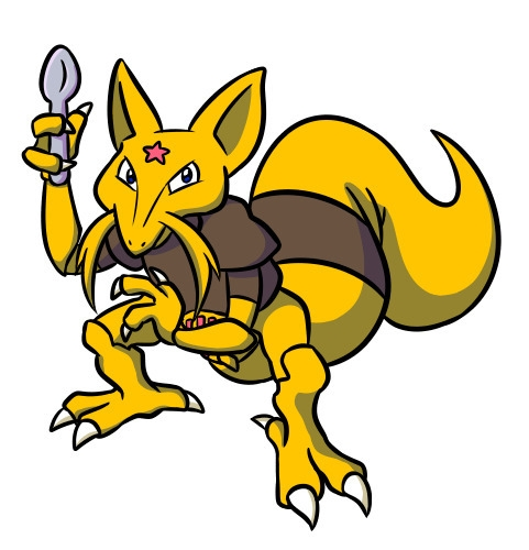 Kadabra - kadabra, pokemon - flowerbanana   ello