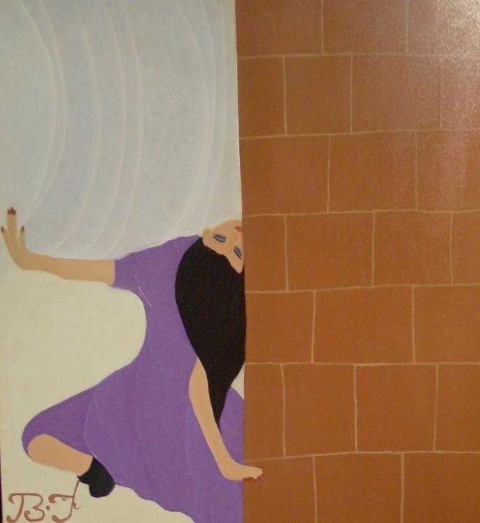 Droit dans le mur 100cm oil can - bakkach | ello