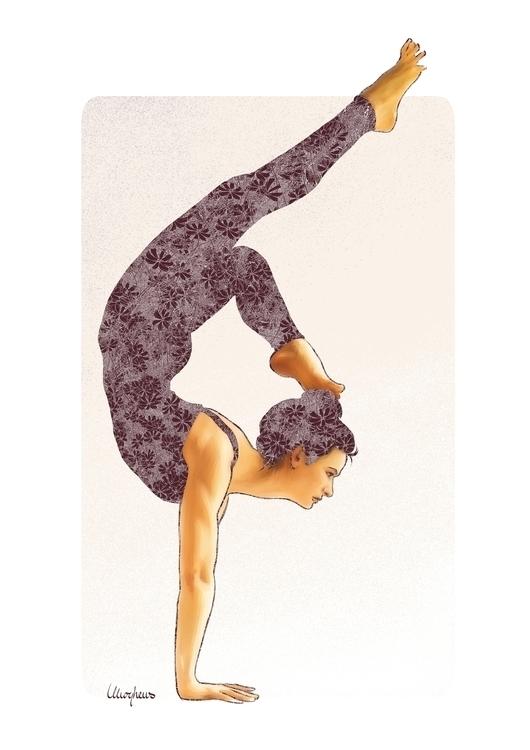 yoga - #yoga×#yogaart×#yogadesign×#illustration×#blue×#illustration#digitalart#design#characterdesign#photoshop#painting#davisvrworks#drawing#conceptart×#digitalart×#digitalillustration×# - mph-7337 | ello