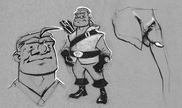 Character design uh... random e - vanillustration | ello