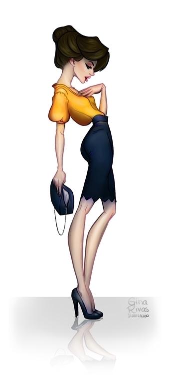 Fashion girl_01 - fashion, girl - ginarivas | ello