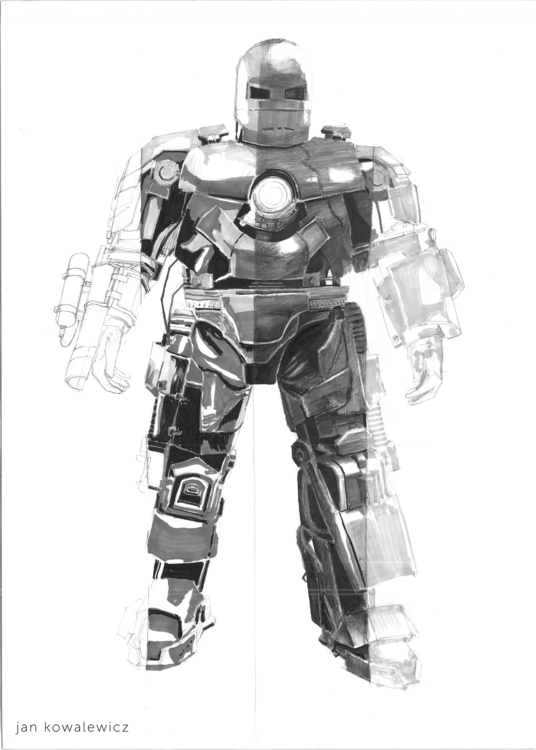 Ironman mark 1 Tria markers, B2 - jandraws | ello