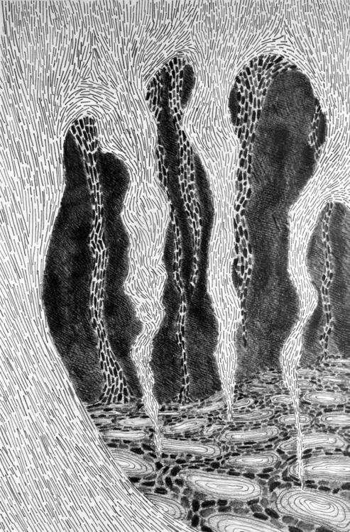 Cave Dwellings graphite paper - landonrwilson | ello