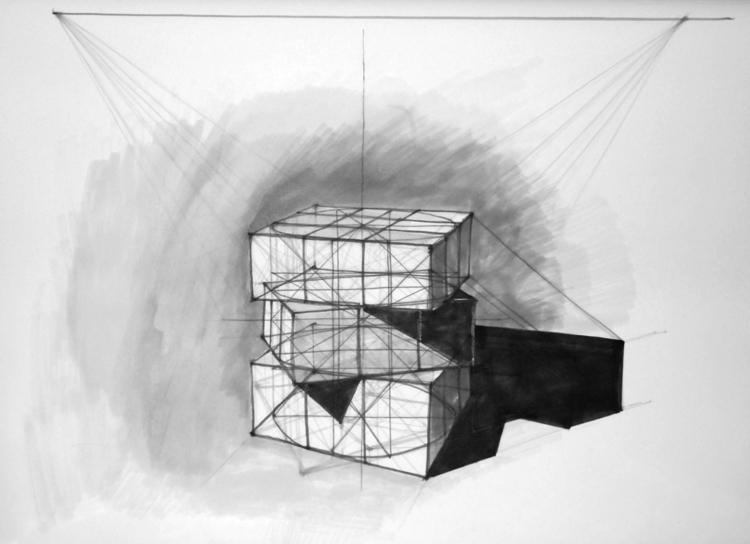 Cube Tria Markers, B2 - geom, geometry - jandraws | ello