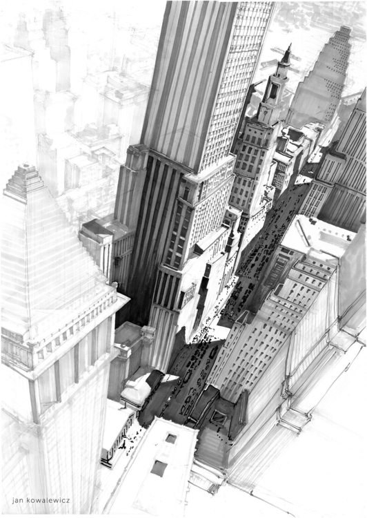 York City Tria Markers, B2 - panorama - jandraws | ello