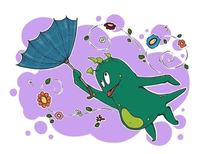 Windy Spring Days Teenu - Print - zita-3948 | ello
