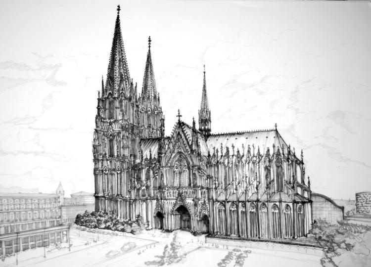 Koln Cathedral, Germany Tria Ma - jandraws | ello