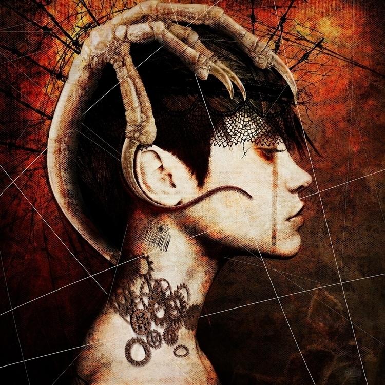 Asylum - digitalart, photoshop, photography - mikstyx | ello