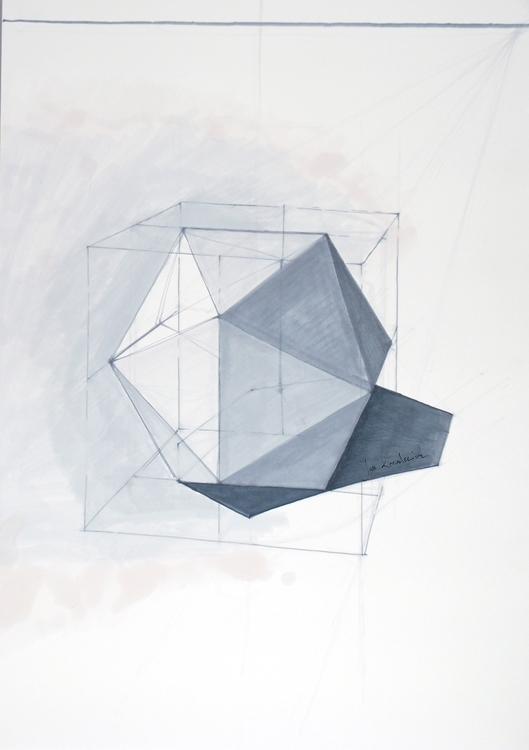 icosahedron, platonic solid Tri - jandraws | ello