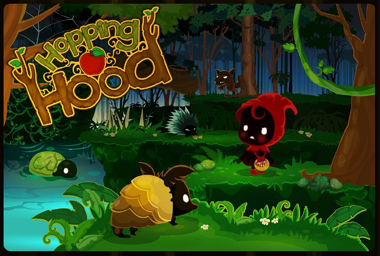 Hopping Hood Game art - littleredridinghood - jinyasinee | ello