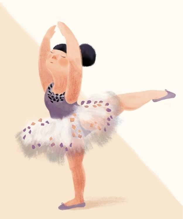 ballet dancer - dancing, girl, ballerina - manjaciric | ello