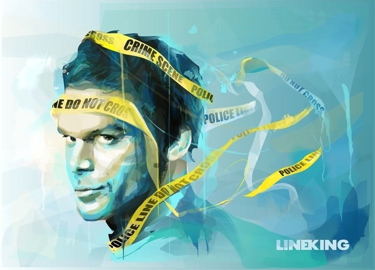 Dexter: Dark passenger crosses  - lineking-1118 | ello