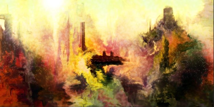 Shipwreck - speedpaint - cellusious   ello