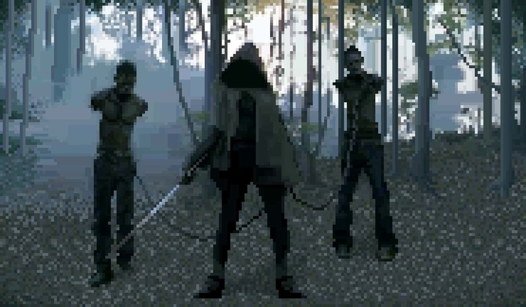 Walking Dead - Michonne Pixel a - ultrasqull | ello