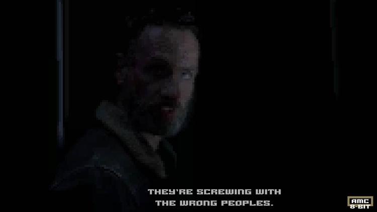 Walking Dead - Rick Pixel art - thewalkingdead - ultrasqull | ello