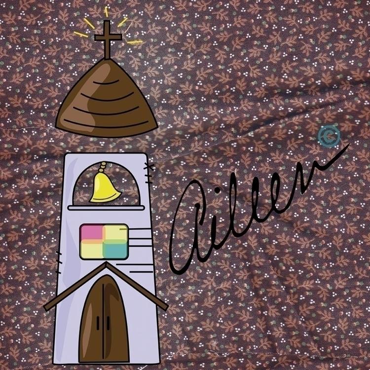 de Iglesia - illustration, abc, vintage - aileencopyright   ello