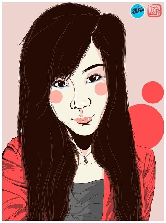 illustration, art, asian, drawing - atsukosan-3588 | ello