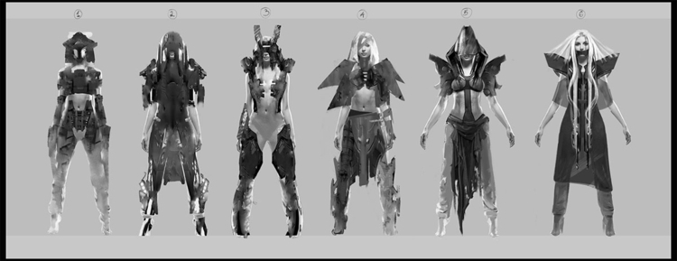 search costume design - characterdesign - yuryhudov | ello