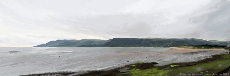 Northen Ireland - digitalpainting - ultrasqull | ello