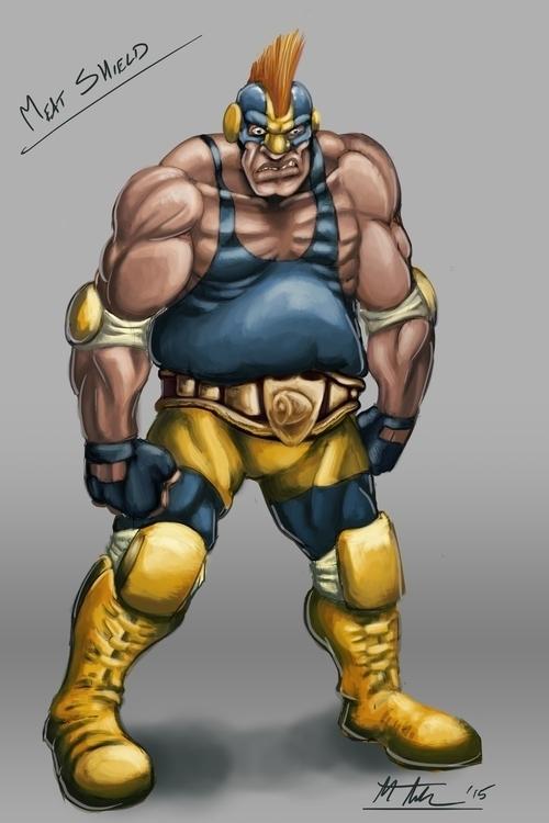 Character Design superhero app - mthacker | ello