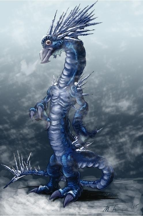 Elemental Frost Dragon - mthacker | ello