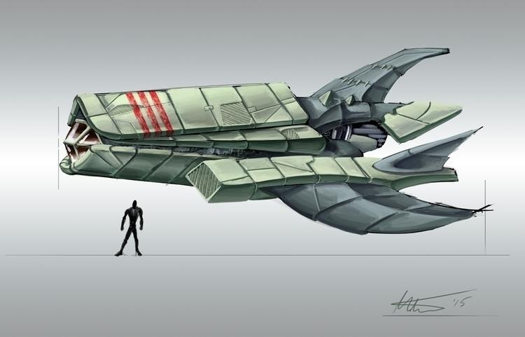 Small personal space shuttle - mthacker | ello