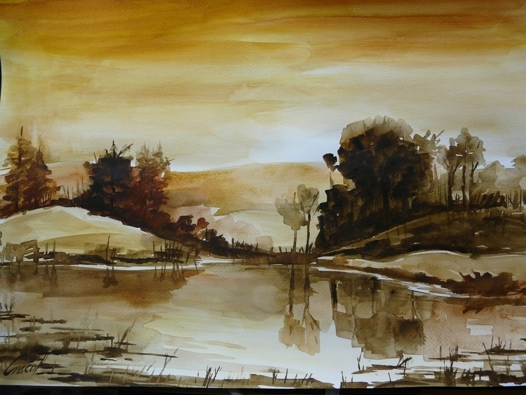 watercolor - painting - miros-3196 | ello