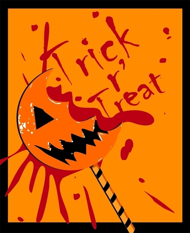 Trick Treat (movie poster - movieposter - scottnoble-7012 | ello