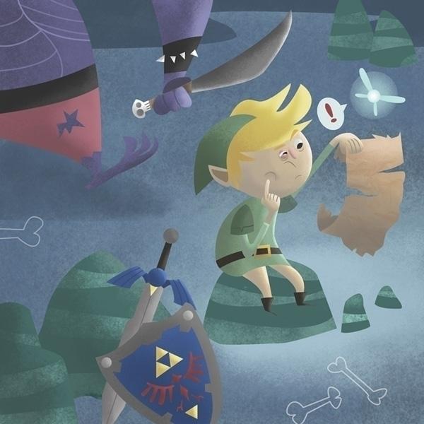 Zelda - Links Mishap - zelda, link - jamesloram | ello